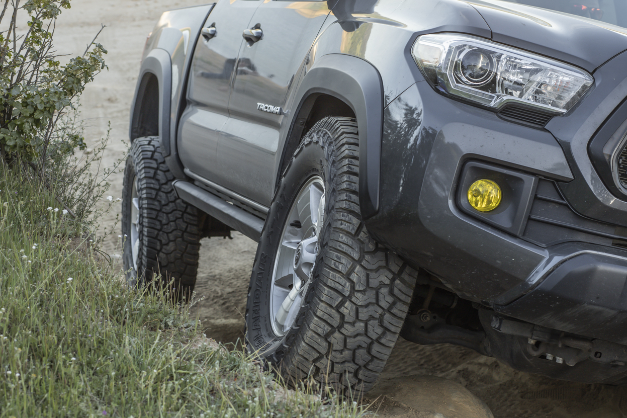 """Fitting 33"""" Tires on Tacoma"""