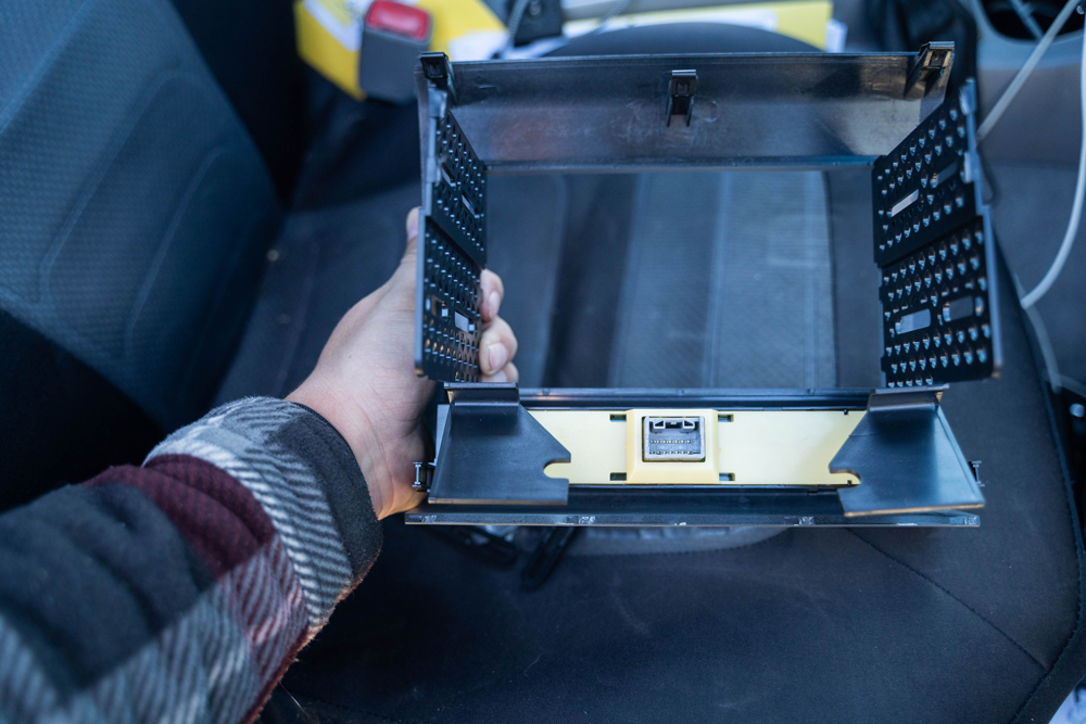 Toyota Tacoma Stinger Head Unit Mounting Kit
