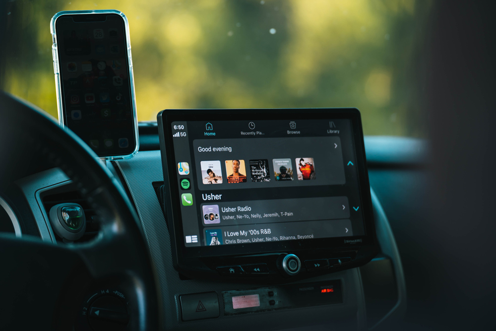 Stinger Off-Road Touchscreen Stereo Replacement with CarPlay for 2nd Gen Tacoma