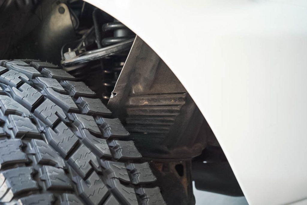 2nd Gen Toyota Tacoma Fender Liner Removal