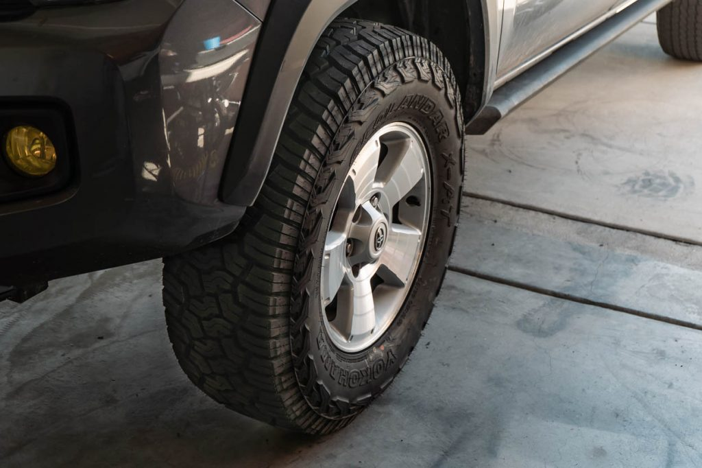 Stock 3rd Gen Tacoma with 33-Inch Tires with No Lift