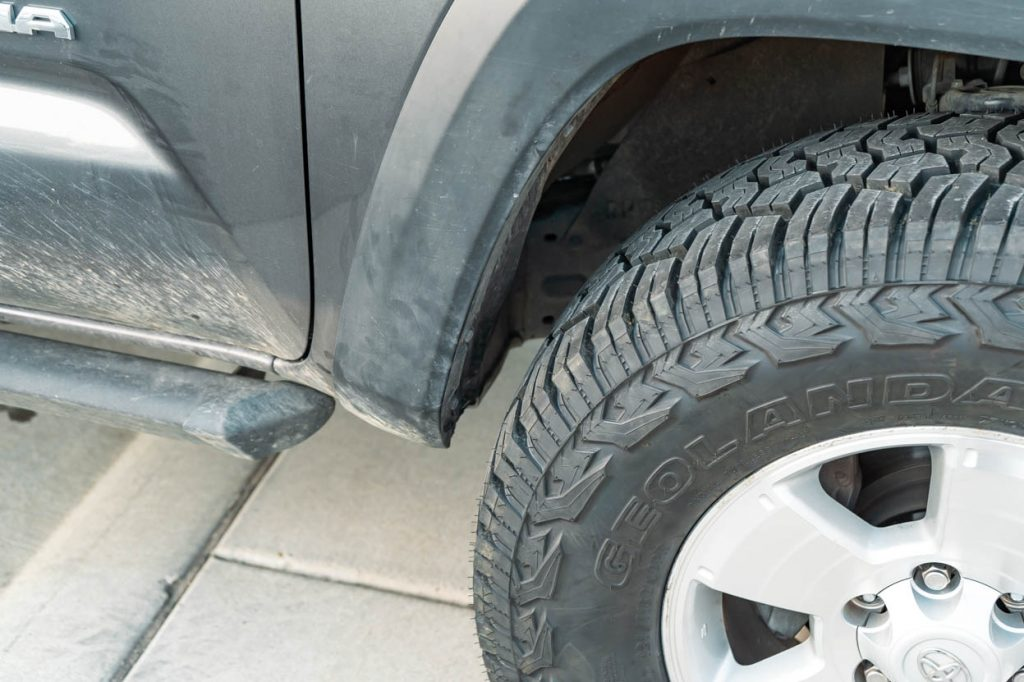 How To Clear 33-Inch Tires on 3rd Gen Tacoma with No Lift