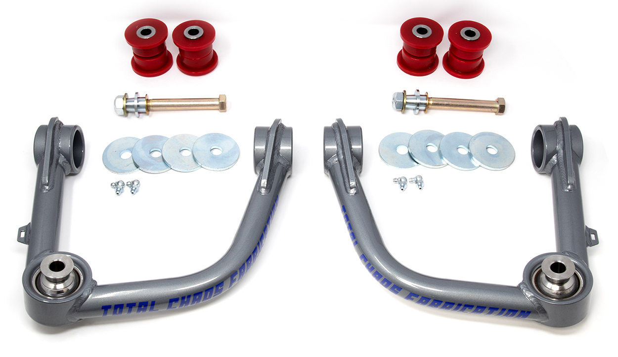 Total Chaos Ball Joint Upper Control Arms (UCAs) for 2nd & 3rd Gen Tacoma