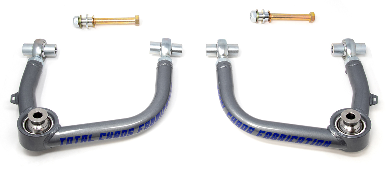 Total Chaos Heim Joint Pivot Upper Control Arms (UCAs) for 2nd & 3rd Gen Tacoma