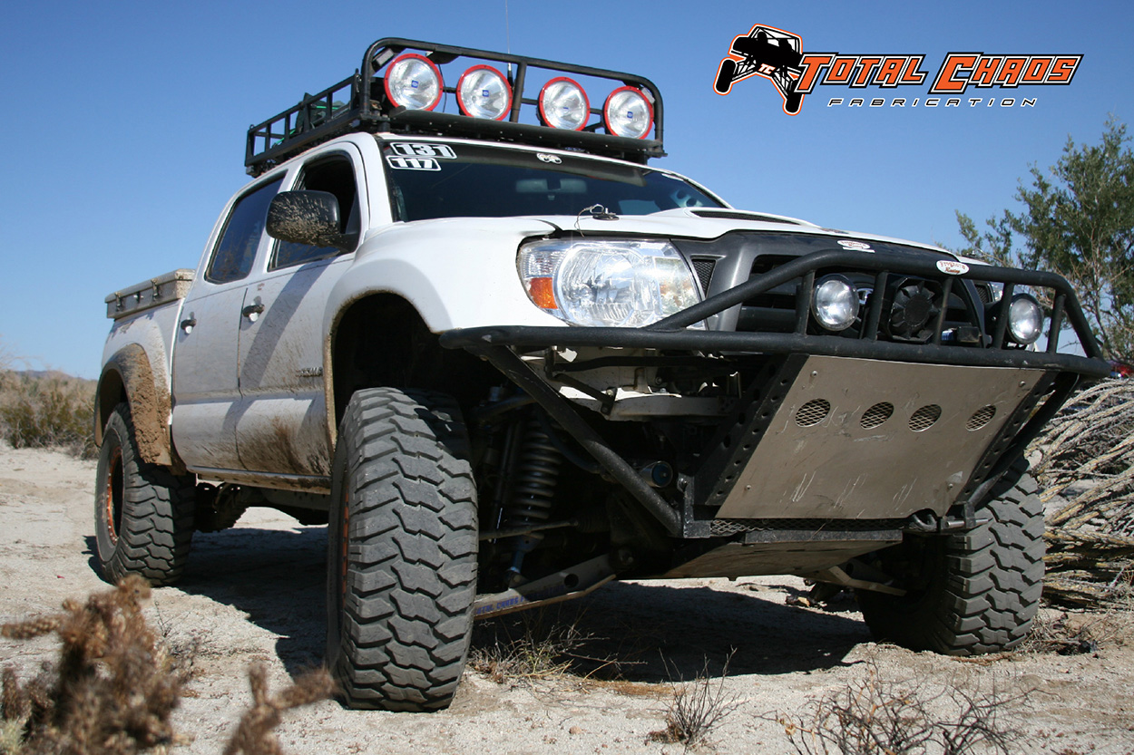 Lifted 2nd Gen Tacoma with Total Chaos Long Travel Suspension