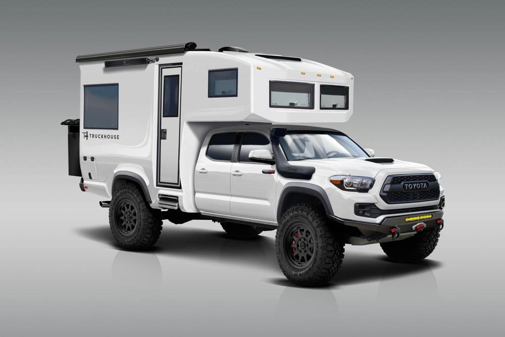 TruckHouse BCT Super White TRD Pro 3rd Gen Toyota Camper