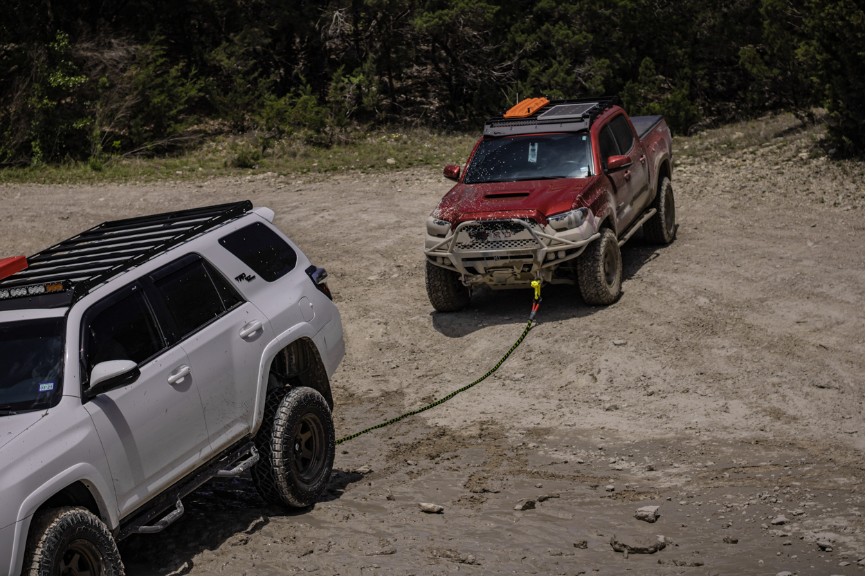 Kinetic Rope & Soft Shackle Recovery with 3rd Gen Tacoma & 5th Gen 4Runner