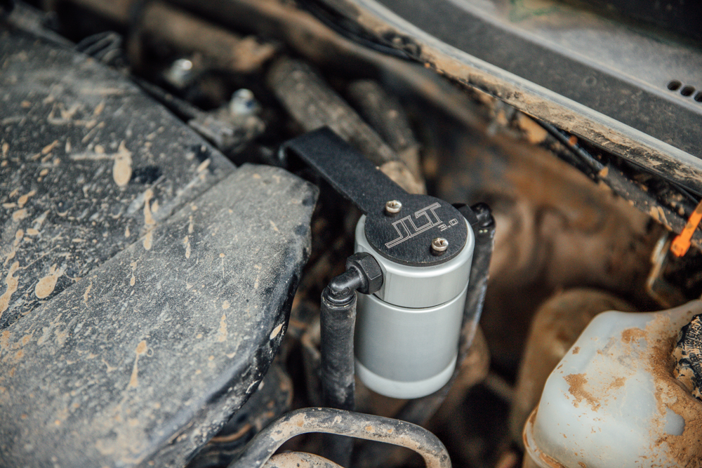JLT Performance 3.0 Oil Catch Can for 3rd Gen Tacoma
