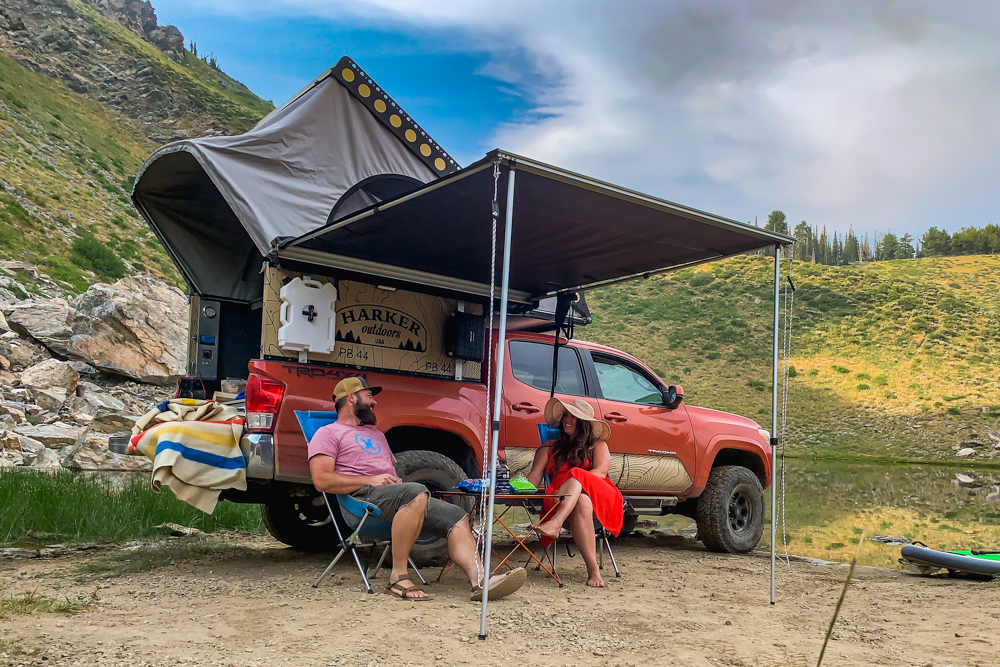 3rd Gen Tacoma with Harker Outdoors Expedition Driven Camper