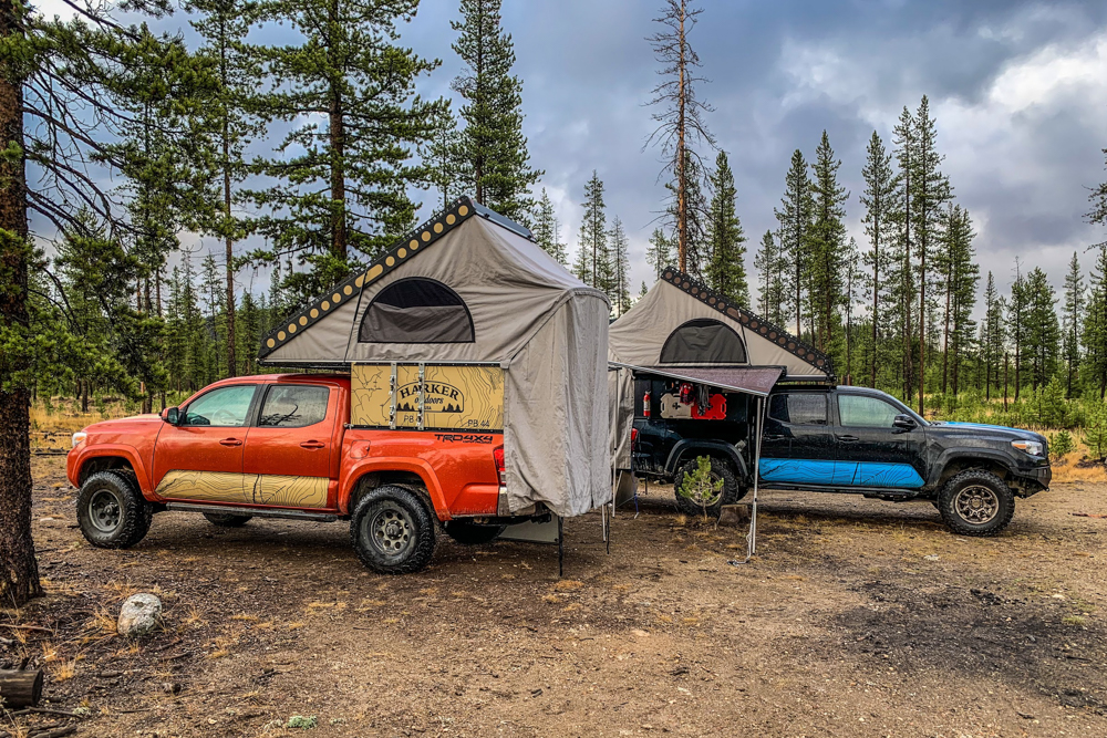 3rd Gen Tacoma with Wedge Campers from Harker Outdoors