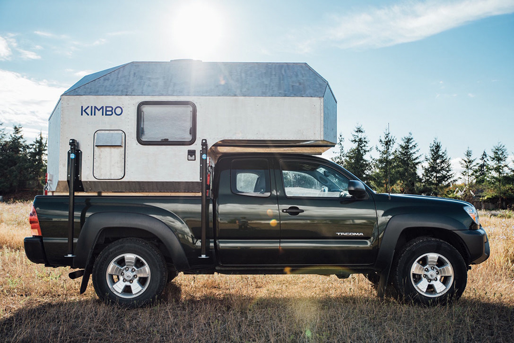 2nd Gen Toyota Tacoma with Kimbo 6 Series Camper