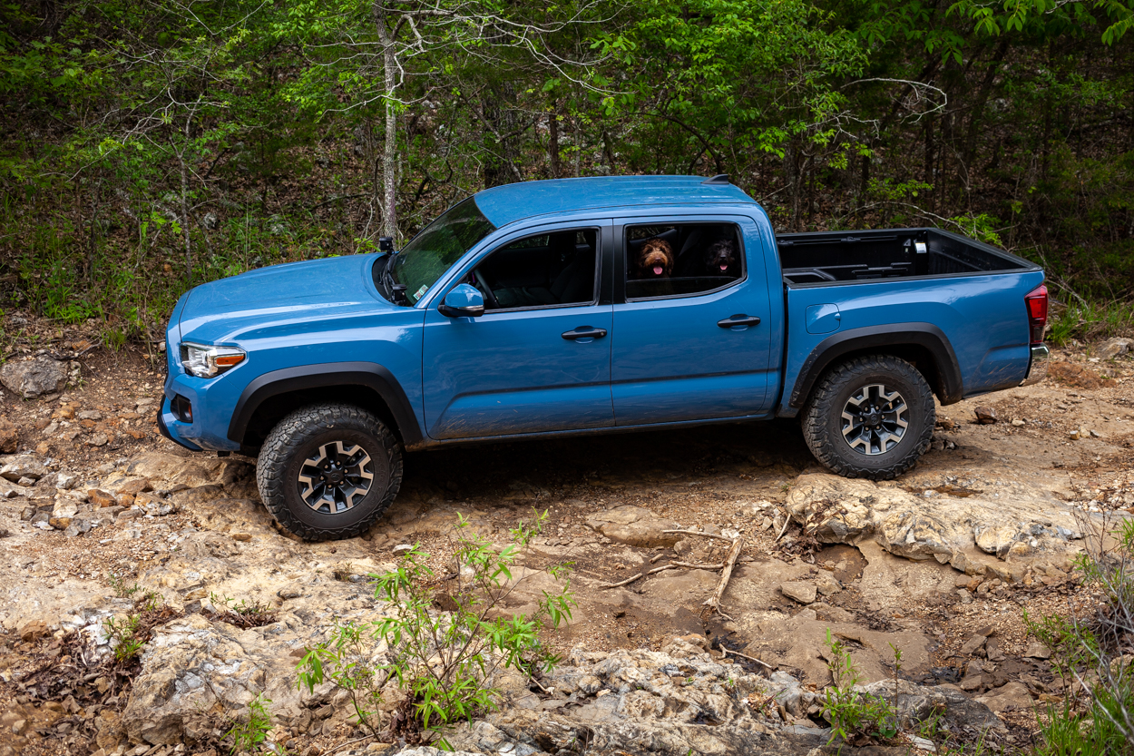 Factory TRD Off-Road Cavalry Blue 3rd Gen Toyota Tacoma