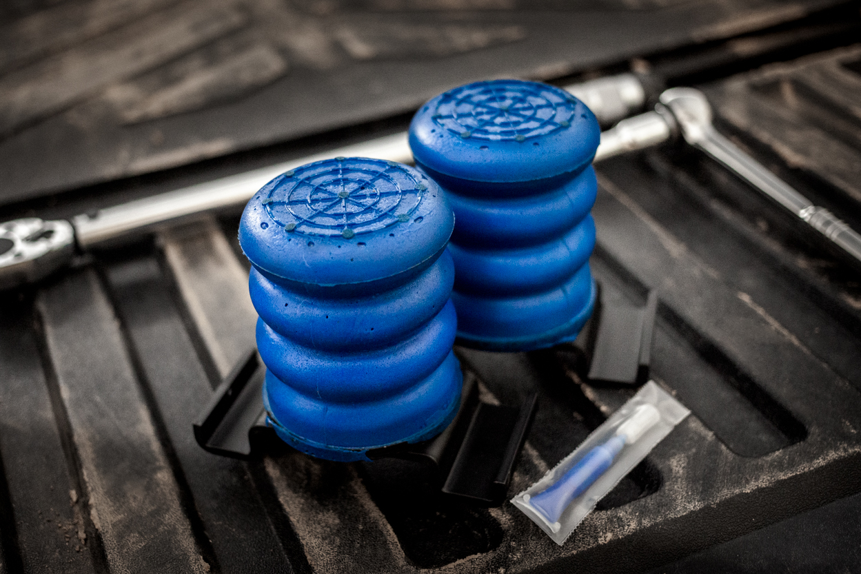 SuperSprings SumoSprings - Progressive Micro-Cellular Urethan Rear Bump Stops for Toyota Tacoma