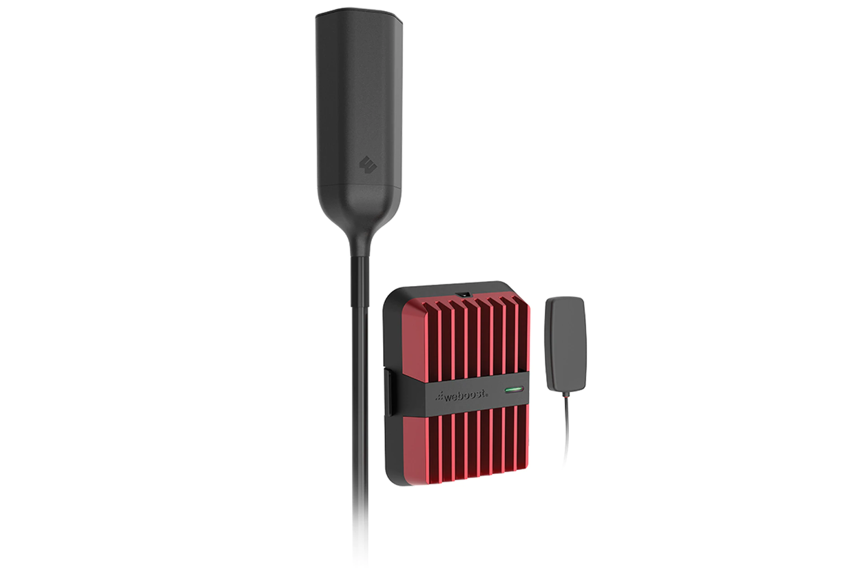 weBoost Drive Reach OTR - Cell Phone Signal Booster for Travelling
