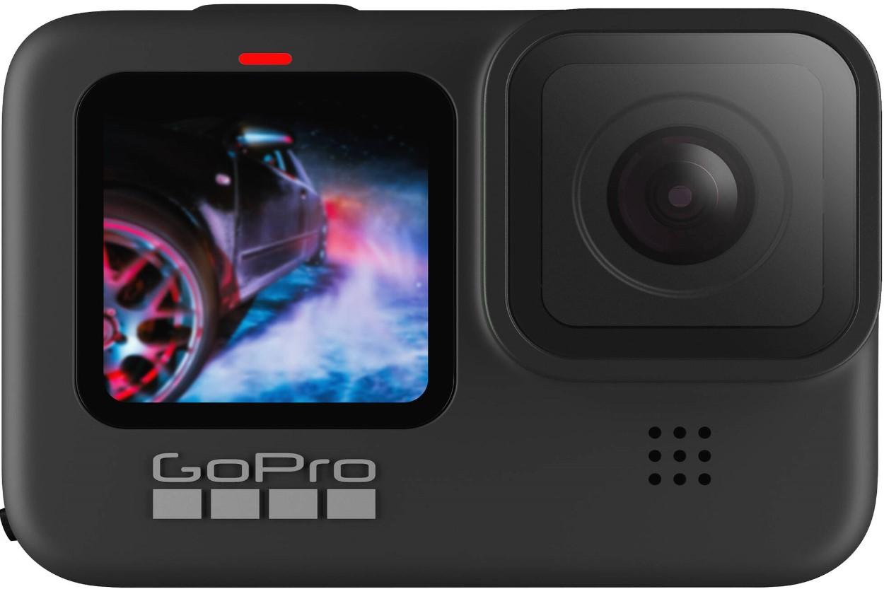 Black GoPro Hero 9 HD Camera