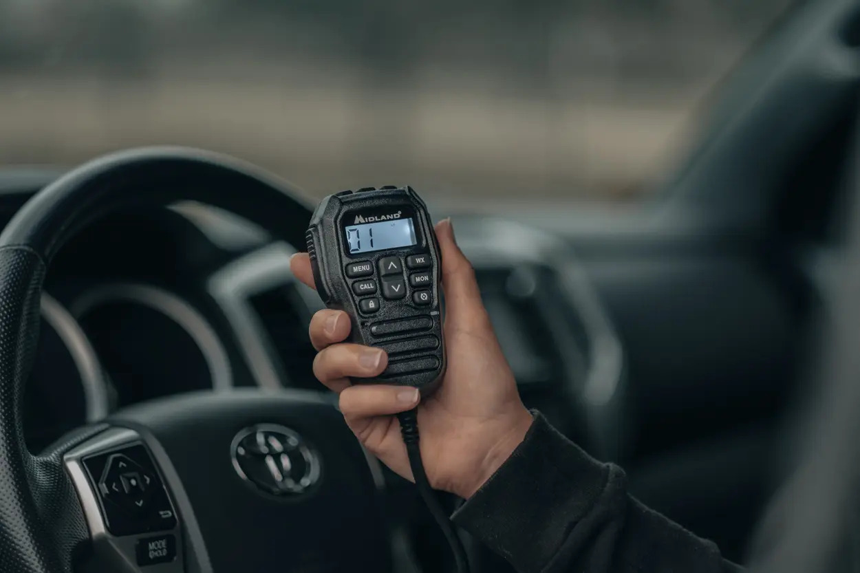 Midland MicroMobile GMRS Radio for Off-Road & Overland Travel