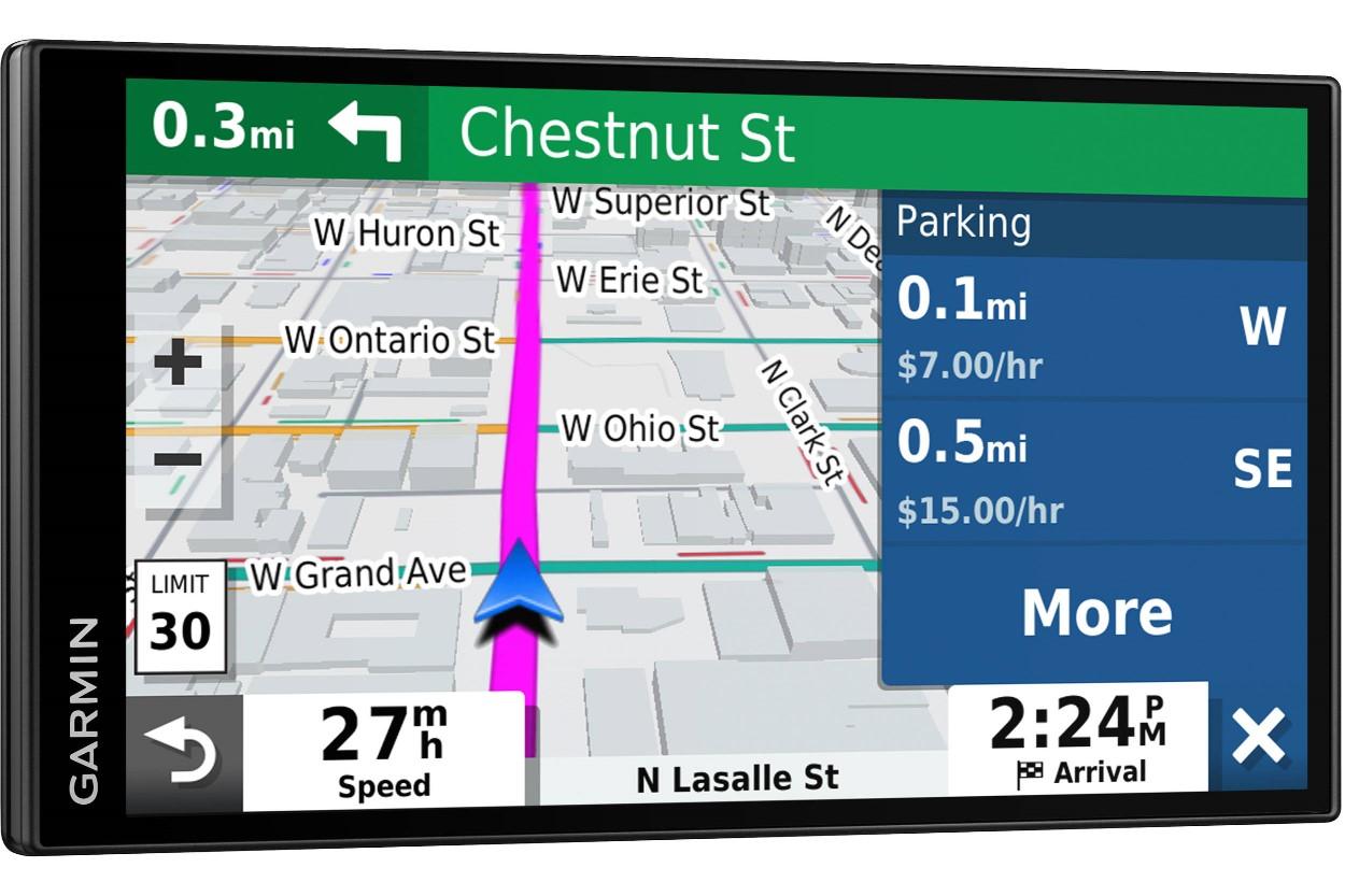 Garmin DriveSmart 65 & Traffic GPS System