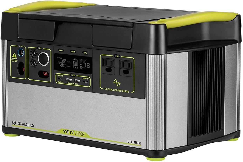 Goal Zero Yeti 1500X - Portable Power Station