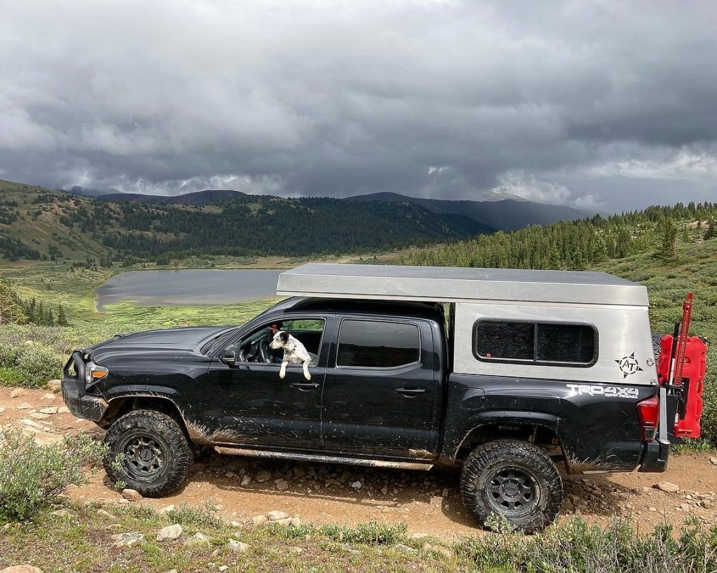 3rd Gen Tacoma with ARB Front Bumper & AT Overland Summit Truck Camper