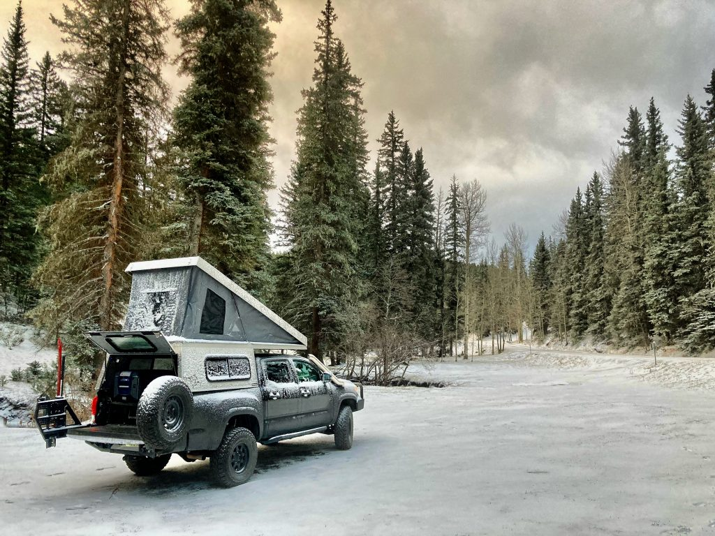 AT Overland Summit Truck Topper & Camper on Toyota Tacoma