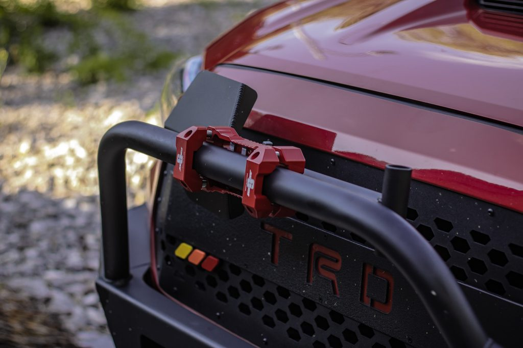 Agency 6 Shovel & Mount Combination on C4 Fabrication Hybrid Front Bumper