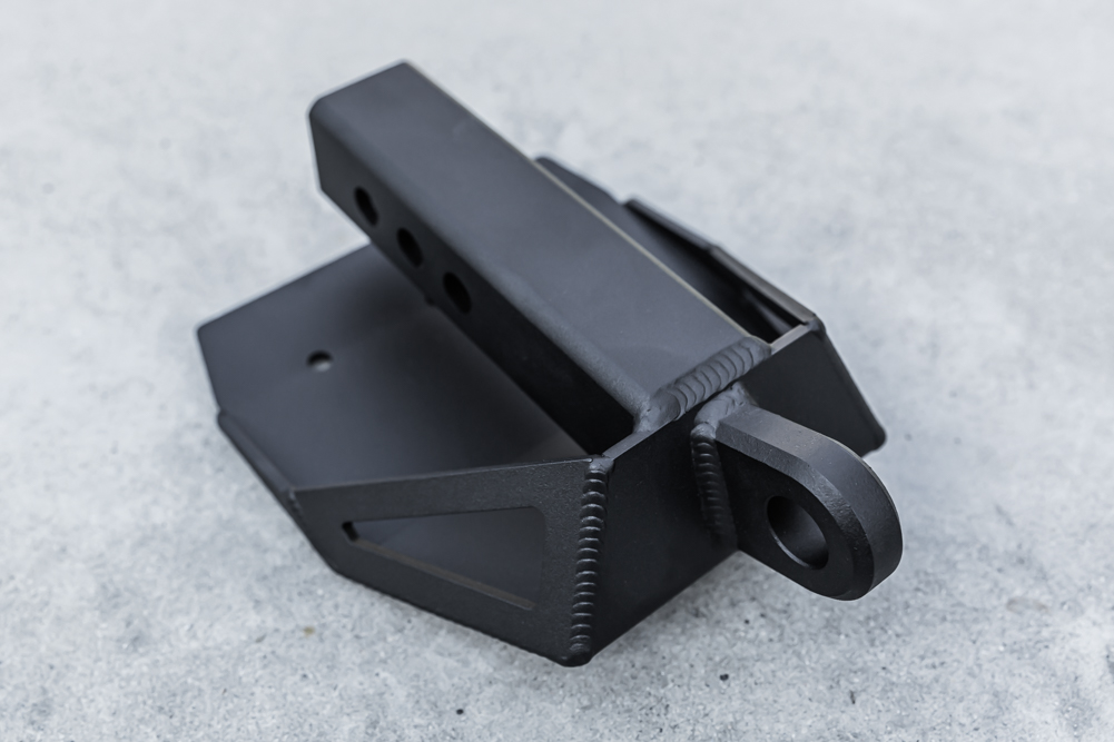 High Clearance Hitch Receiver Skid Plate for Toyota Tacoma