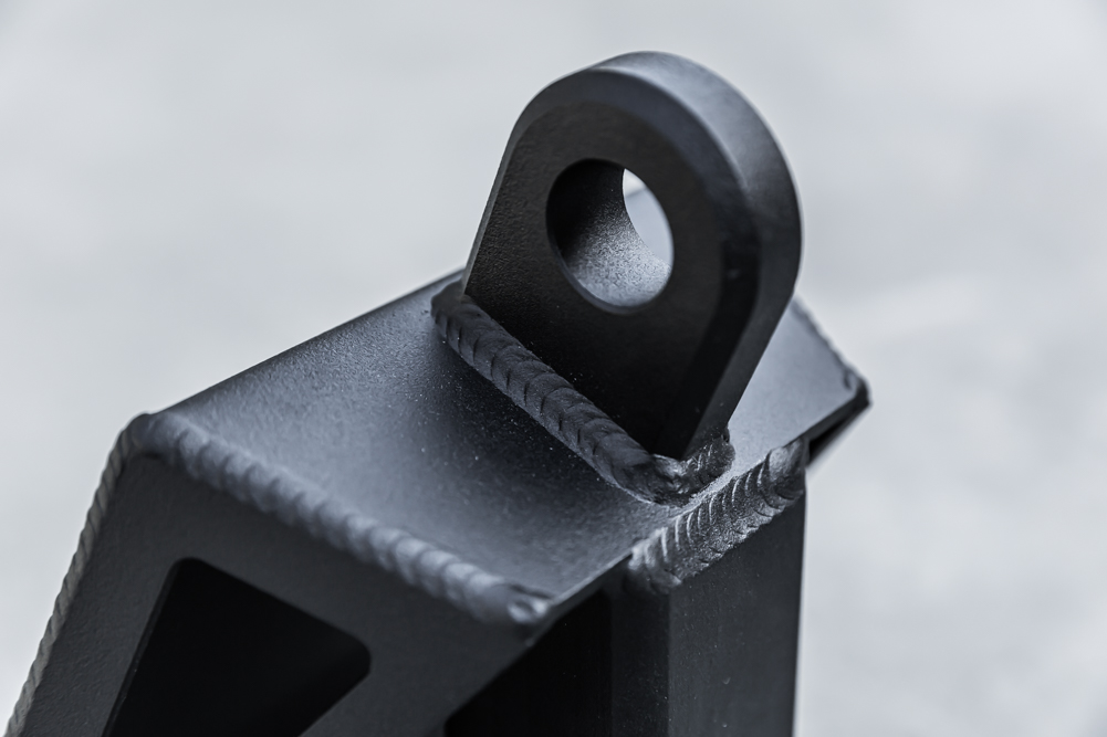 Universal Hitch Skid with D-Ring/Steel Shackle Mount
