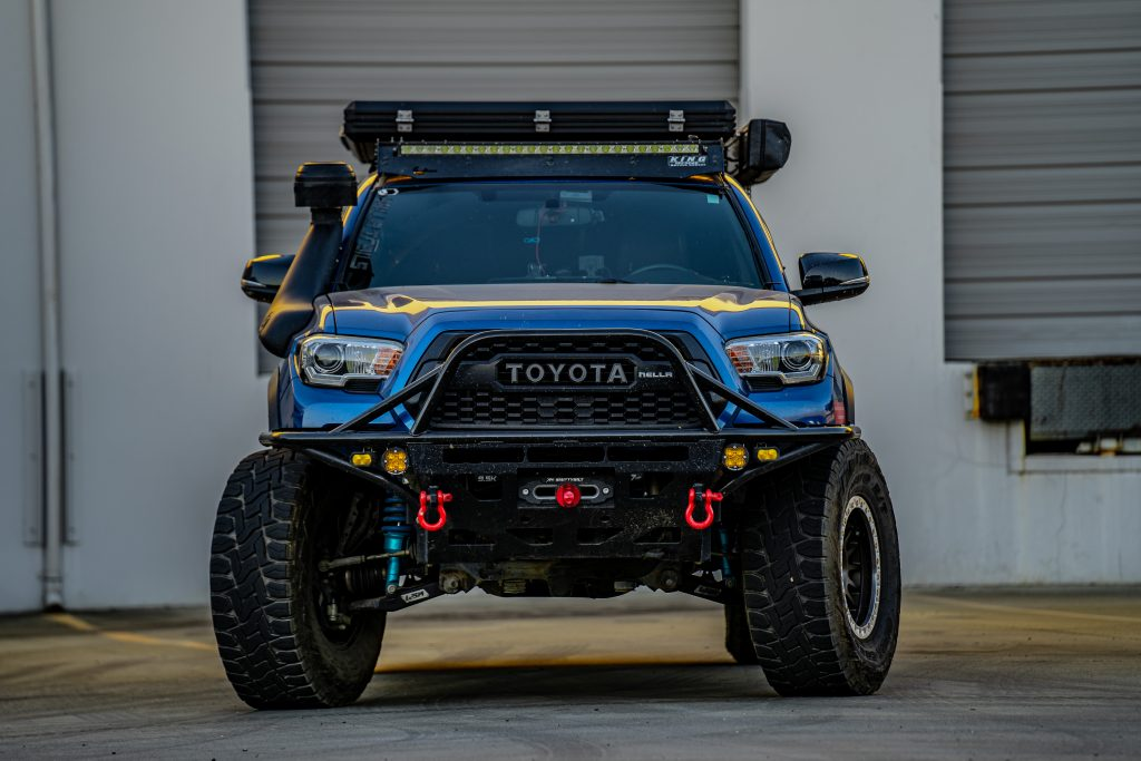 3rd Gen Tacoma with Sy-Klone Pre-Cleaner Upgrade for ARB Safari Snorkel
