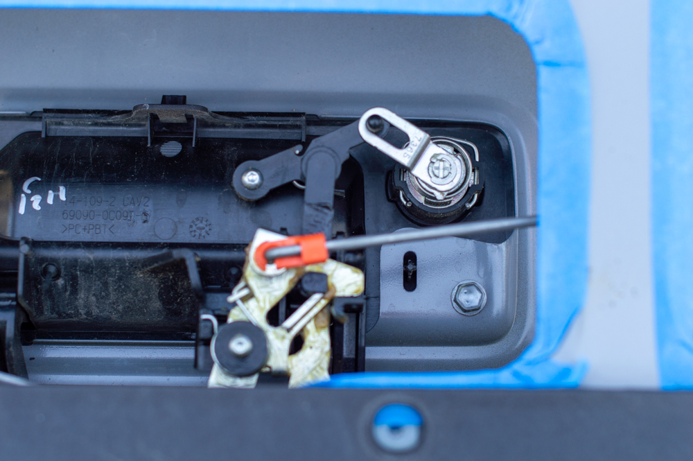 Installing Power Tailgate Lock for 3rd Gen Toyota Tacoma