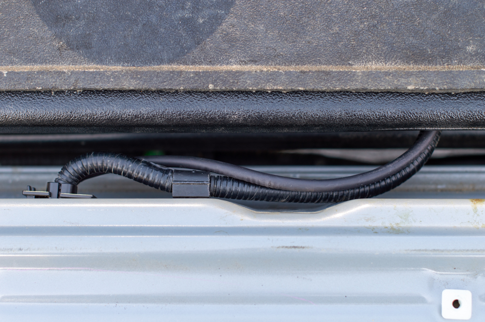 Wiring for Power Tailgate Lock