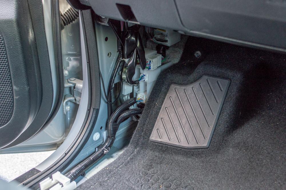 Removing Driver's Kick Panel on Toyota Tacoma