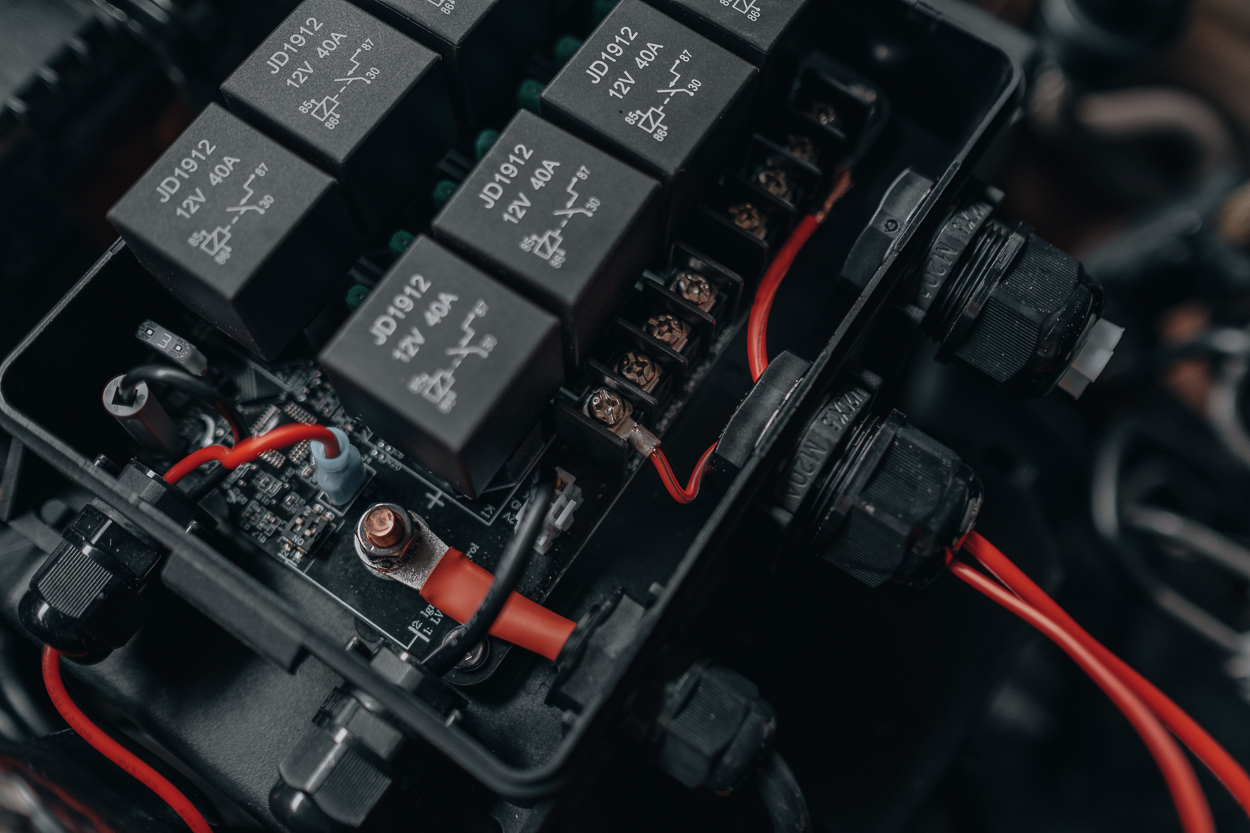 Installation Guide for RLB (Rear Light Bar) Pro8 Switch Panel