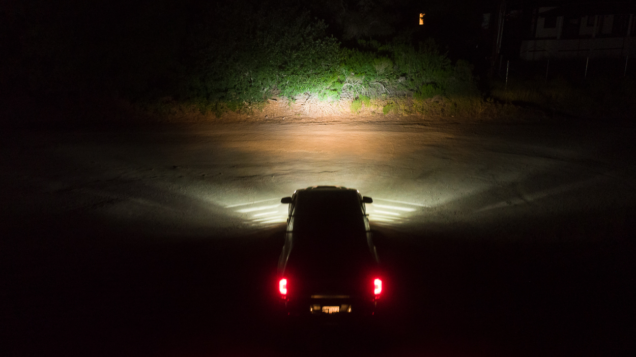 LASFIT LED High Beam Bulb Output on 3rd Gen Tacoma