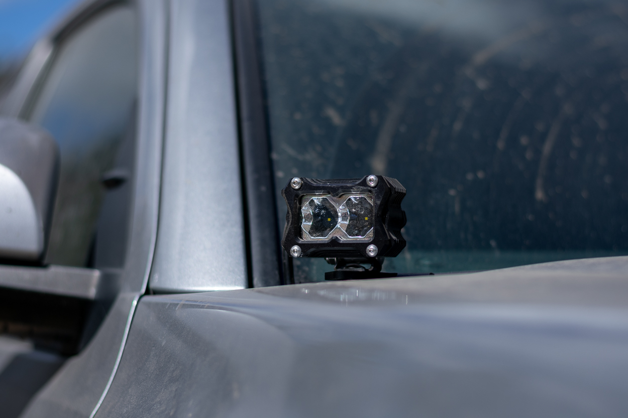 Heretic Studio BA-2 LED Ditch Lights on 3rd Gen Tacoma - Overview & Review