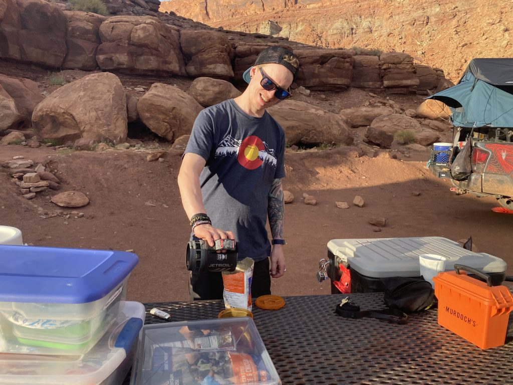 Camp Kitchen for Off-Road & Overland Travel