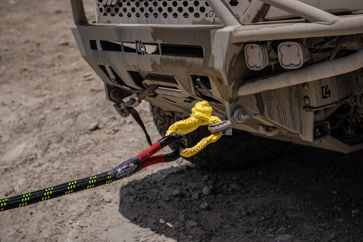Budget Friendly, Affordable Synthetic Soft Shackle & Kinetic Rope for Off-Road Recovery
