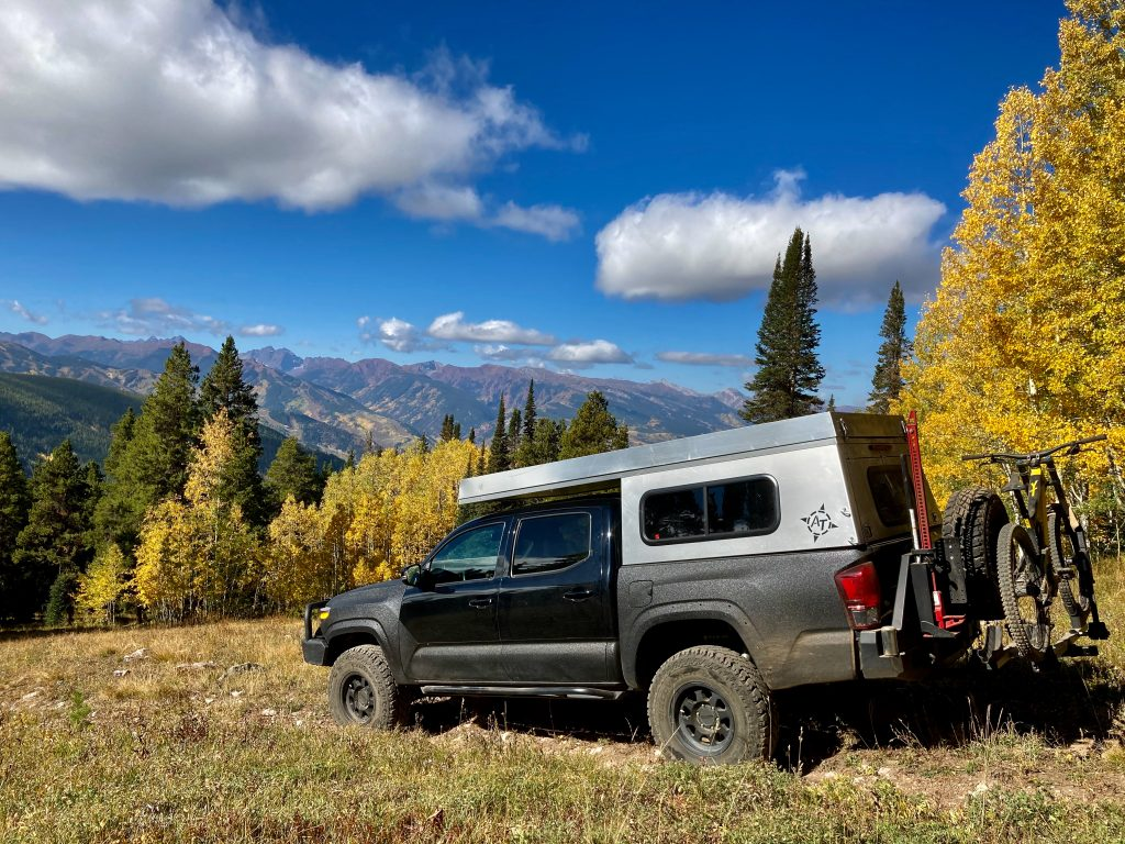 AT Overland Truck Camper on 3rd Gen Toyota Tacoma