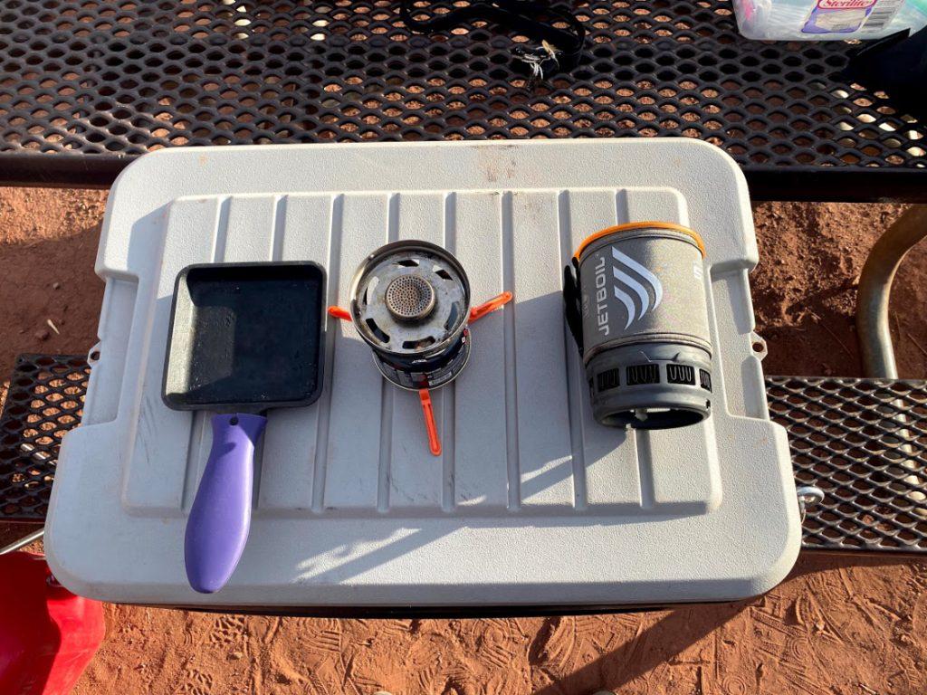 Budget Friendly Camp Kitchen