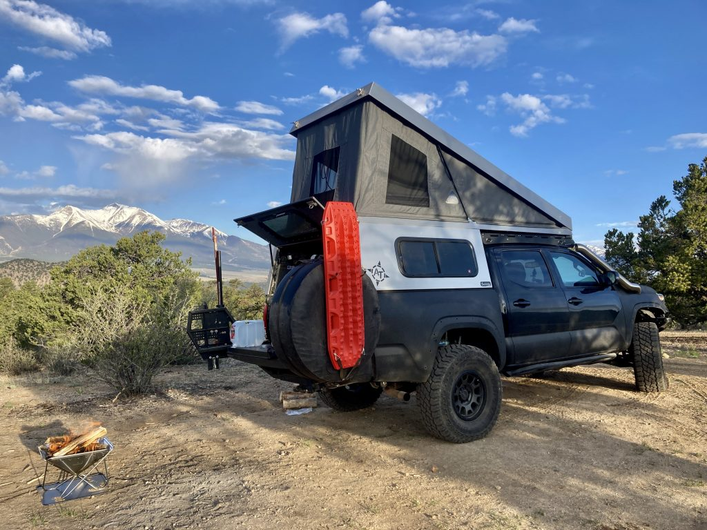 Complete Review & Overview - AT Overland Summit Camper on 3rd Gen Tacoma
