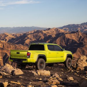 Introducing the All New 2022 Toyota Tacoma TRD Pro (Electric Lime Metallic) and Trail Edition