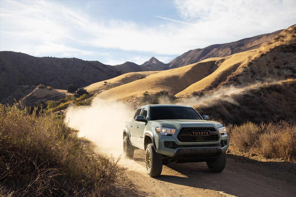 2022 Trail Edition Lunar Rock 3rd Gen Tacoma - Features & Upgrades