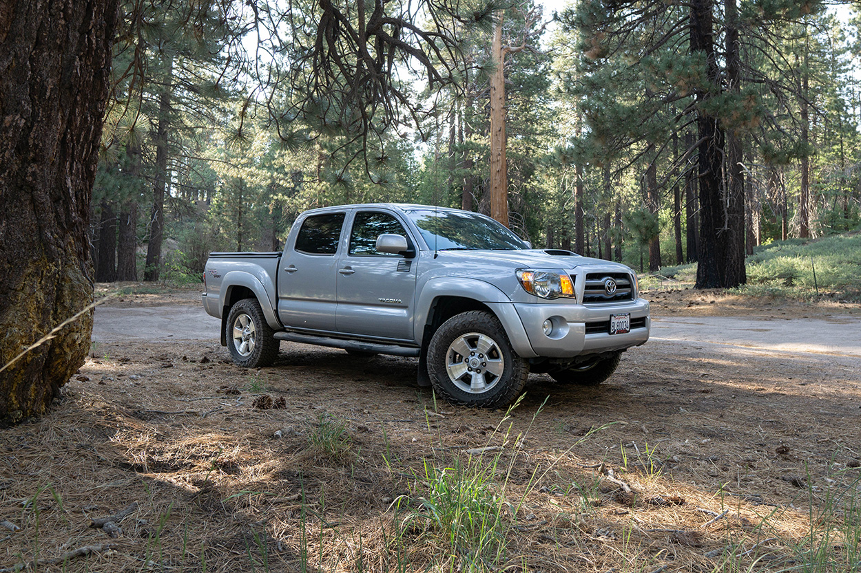2nd Gen Toyota Tacoma with Falken Wildpeak AT3W Tires