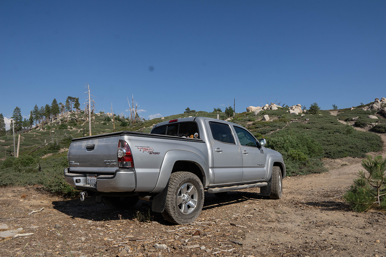 """2nd Gen Toyota Tacoma with 32"""" Falken Wildpeak AT3W Tires"""