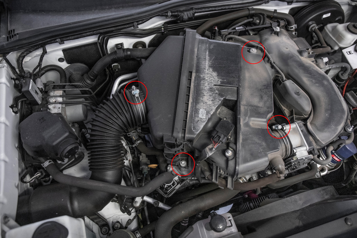 Remove Factory Intake