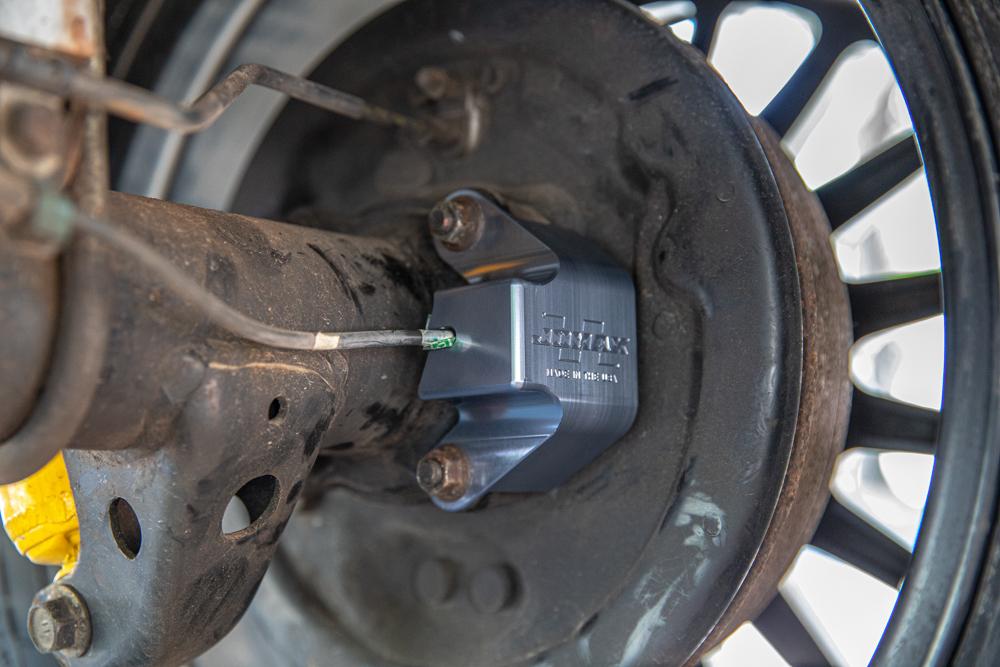Rear ABS Sensor Skid Plate for Off-Road & Overland