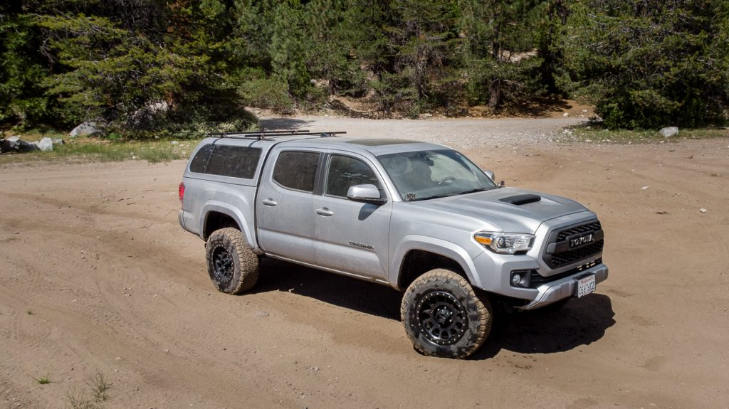3rd Gen Toyota Tacoma with Method Race Wheels, SnugTop Super Sport Bed Topper & DIY Roof Rack