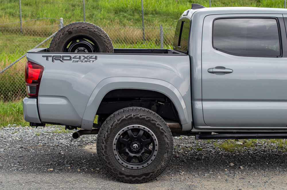 Double Cab Short Cab 3rd Gen Tacoma Spare Tire Mount for Truck Bed