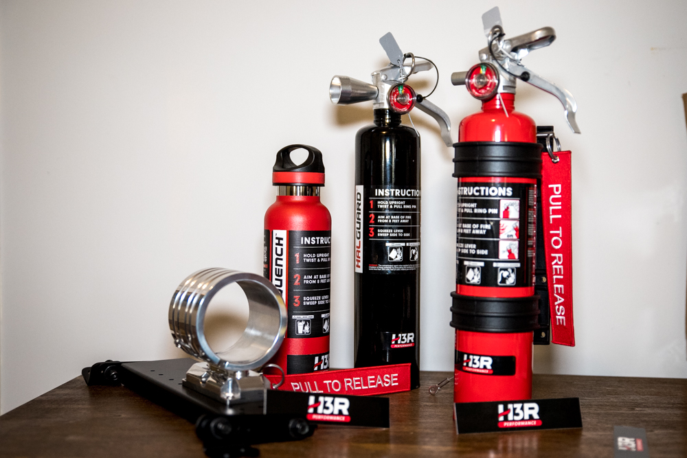 H3R Performance Fire Extinguishers for Off-Road & Overland Travel