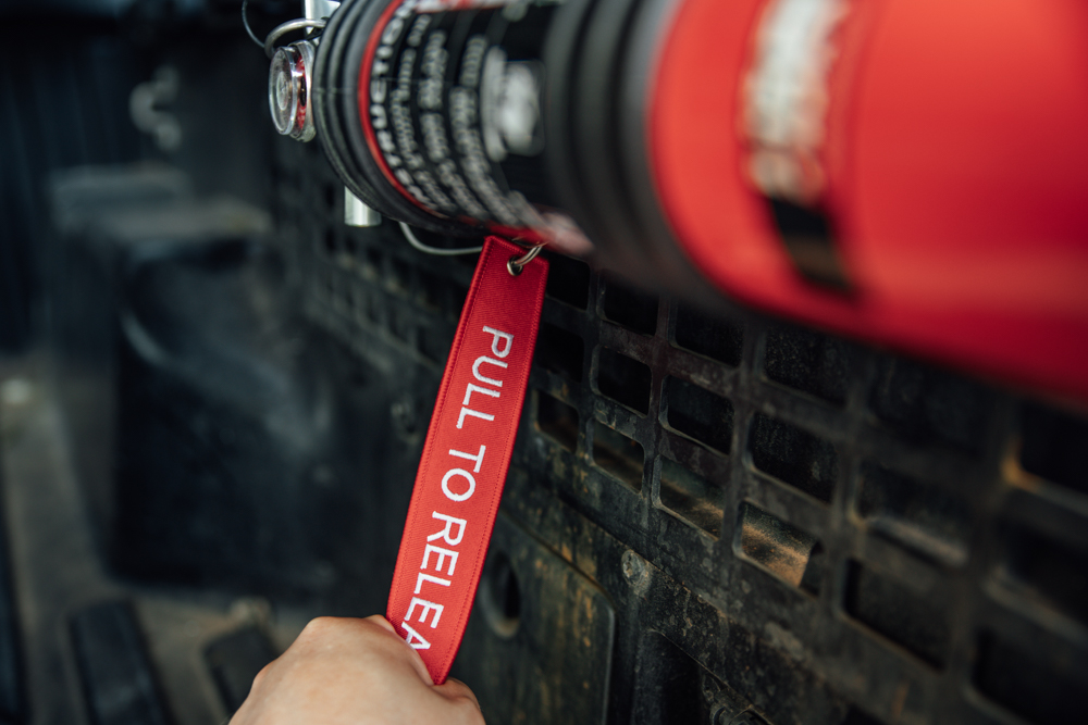 Quick Release Fire Extinguisher Mount from H3R Performance
