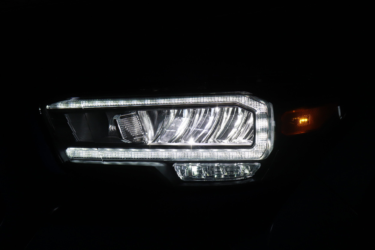 Alpharex TRD Model LED Headlight Upgrade with DRL & Sequential Turn Signals